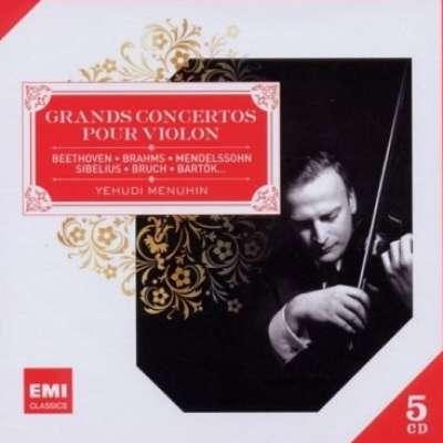 Yehudi Menuhin : Grand Concertos Pour Violon