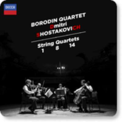 Shostakovich: String Quartets Nos. 1, 8 and 14