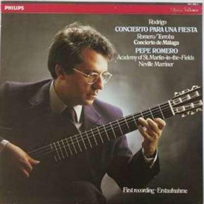 Rodrigo: Concierto Para Una Fiesta, Romero / Torroba Concierto Malaga