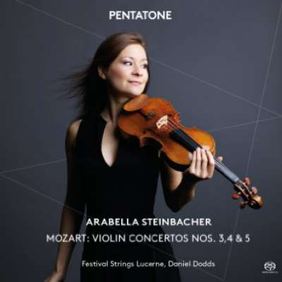 "VIOLIN CONERTO NO.5 IN A MAJOR, K.219, ""TURKISH"", 1.ALLEGRO APERTO - ADAGIO - ALLEGRO APERTO (ARABELLA STEINBACHER, DANEL"