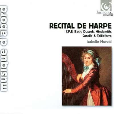 Recital De Harpe, Isabelle Moretti