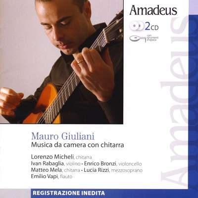 Mauro Giuliani Musica Da Camera Con Chitarra