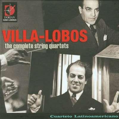 Heitor Villa Lobos, String Quartets Complete
