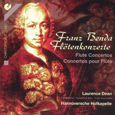 Franz Benda, Flötenkonzerte