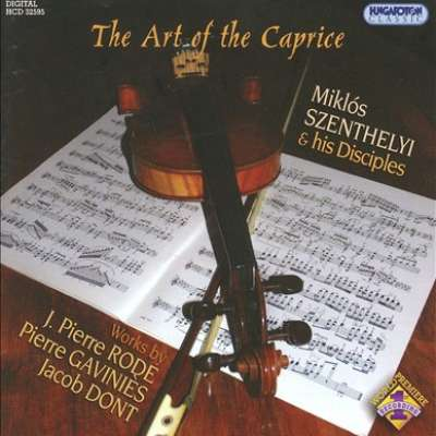 CAPRICE NO.5 D MAJOR, 24 CAPRICES FOR VIOLIN