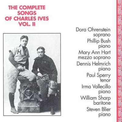 Complete Songs Of Charles Ives, Vol. 2