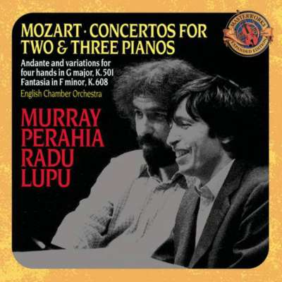 Mozart: Concertos For Two And Three Pianos, Murray Perahia, Radu Lupu