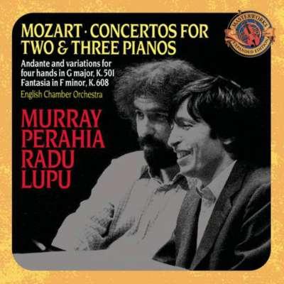 W.A.MOZART: CONCERTO 2 PIANOS AND ORCHESTRA IN E FLAT MAJÖR. K.365, ALLEGRO (RADU LUPU, ENGLISH CHAMBER ORCHESTRA)