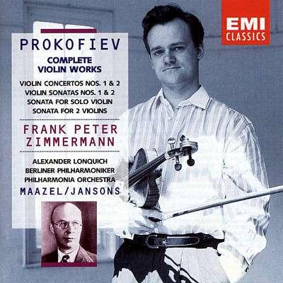 Prokofiev Complete Violin Works, Frank Peter Zimmermann