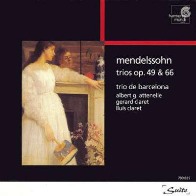 Mendelssohn - Trios Pour  Piano, Violon Et Violencello Op.49 And 66