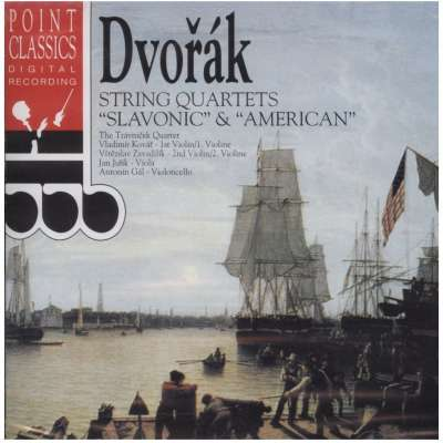 STRING QUARTETS SLAVONIC - AMERICAN