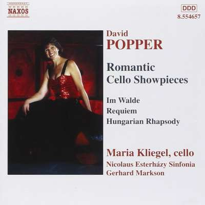 David Popper Romantic Cello Showpieces