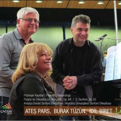 Ateş Pars: Piyano Ve Orkestra İçin Konçerto
