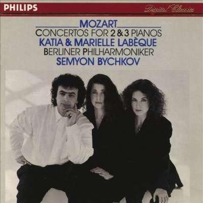 Mozart: Concertos For 2 And 3 Pianos