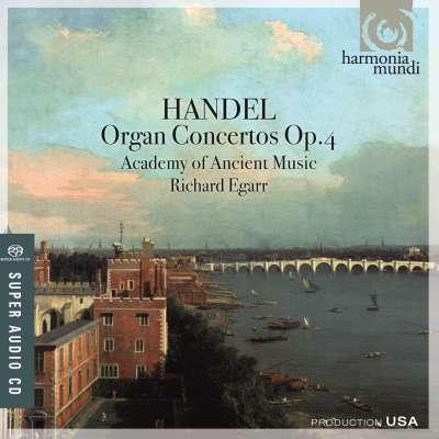 Handel, Organ Concertos, Op.4