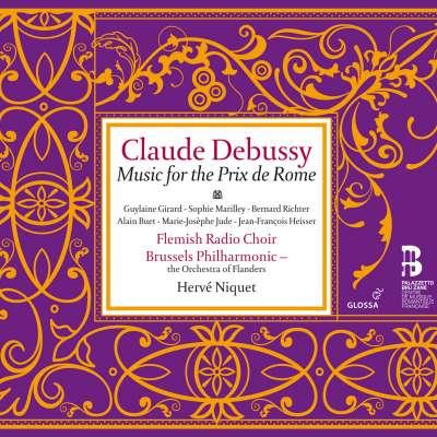 Debussy: Music For The Prix De Rome