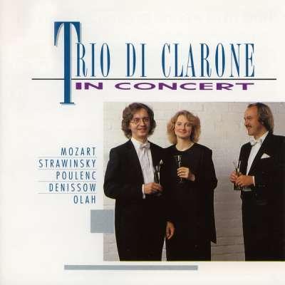 Trio di Clarone in Concert (Mozart, Stravinsky, Poulenc, Denissov, Olah)