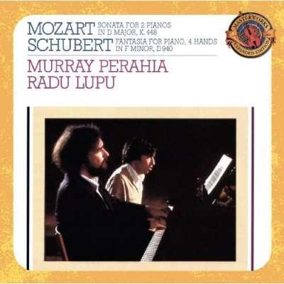 Perahia Lupu: Mozart Schubert