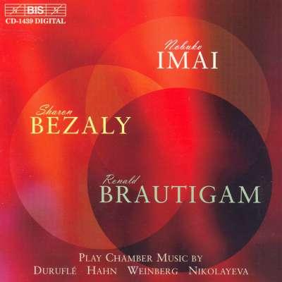 Durufle, Hahn, Weinberg, Nikolayeva: Chamber Music