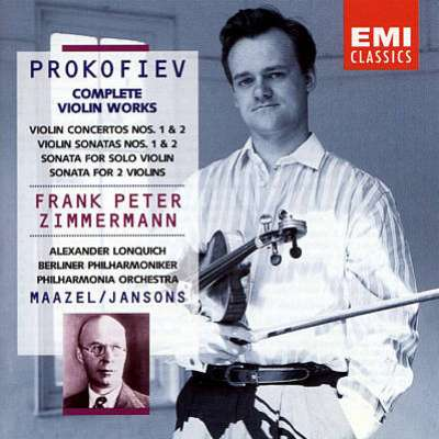 Prokofiev Complete Violin Works Frank Peter Zimmermann