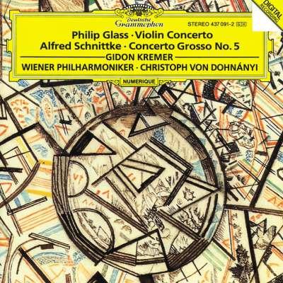 Glass: Violin Concerto, Schnittke: Concerto Grosso No.5