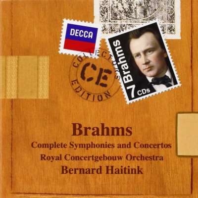 Brahms: Complete Symphonies And Concertos