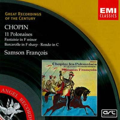 Chopin: 11 Polonaises; Fantasisie; Barcarolle; Rondo