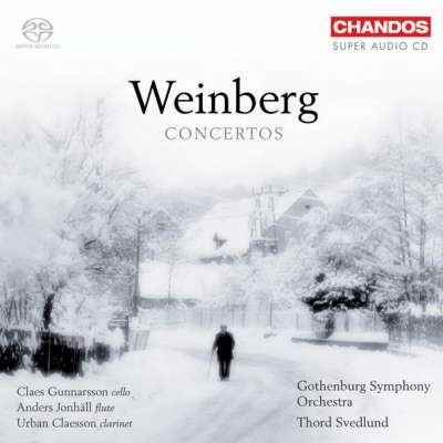 Weinberg: Clarinet Concerto, Flute Concerto No. 2, Flute Concerto, Fantasia