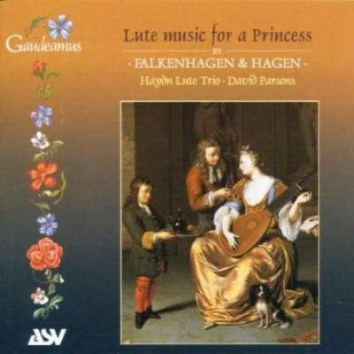 Lute Music For A Princess, Falkenhagen And Hagen