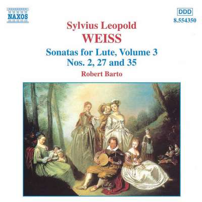 Weiss - Sonatas for Lute, Vol.3