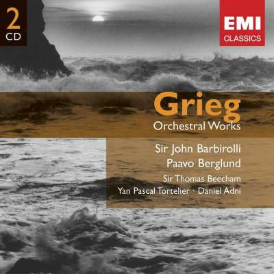 EDVARD GRIEG ORCHESTRAL WORKS