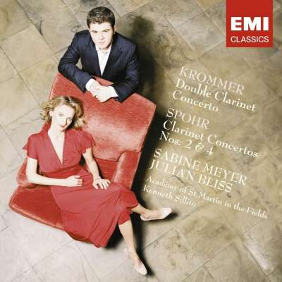 Krommer: Double Clarinet Concerto, Spohr: Clarinet Concertos No.2 - 4