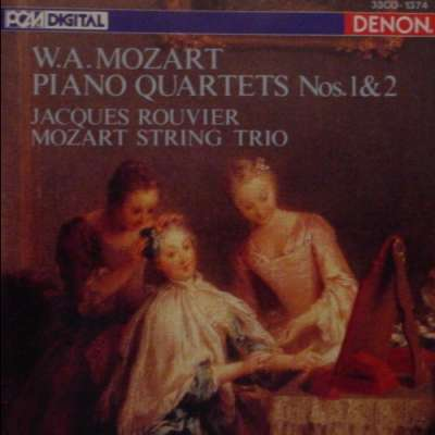 Mozart: 2 Piano Quartets, KV478 - KV493