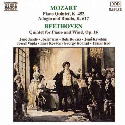 Mozart - Beethoven, Piano Quintets