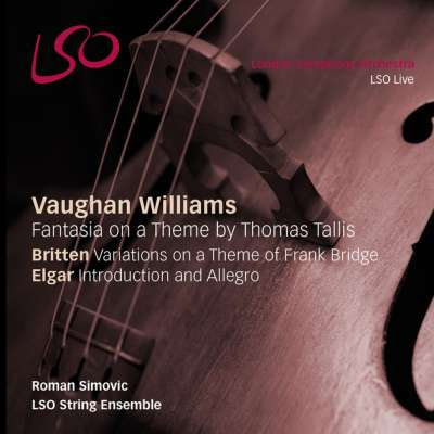 VARIATIONS ON A THEME OF FRANK BRIDGE, OP. 10, VAR. 1. ADAGIO (ROMAN SIMOVIC, LSO STRING ENSEMBLE)