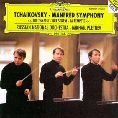 TCHAIKOVSKY: MANFRED SYMPHONY, THE TEMPEST