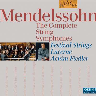 Mendelssohn - The Complete String Symphonies
