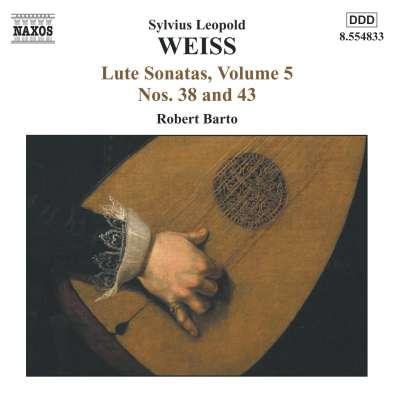 S.L. Weiss - Lute Sonatas, Vol. 5