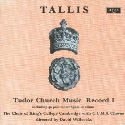 Tallis: Tudor Church Music I (Spem in alium)