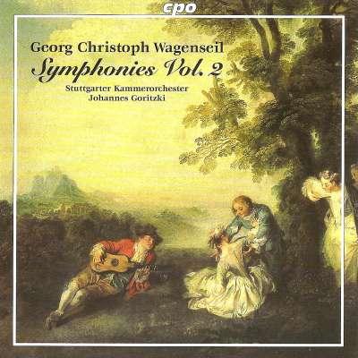 Wagenseil: Symphonies, Vol. 2 - WV 361, 374, 393, 398, 421, 432