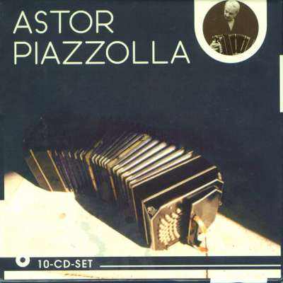 Astor Piazzolla 10 CD Box-Set