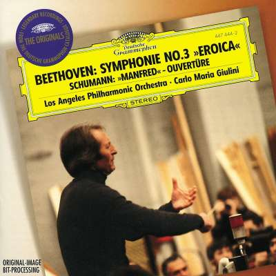 Beethoven: Symphony No.3, Schumann: Manfred Overture