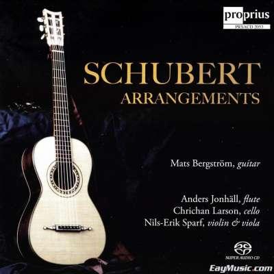 Arpeggione Sonata In A Minor, D. 821 (Arr. Mats Bergström) - Mats Bergström, Anders Jonhäll, Chrichan Larson, Nils-Erik Sparf