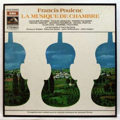 SONATA FOR CLARINET AND PIANO, 1.ALLEGRO TRISTAMENTE, 2.ROMANZA, 3.ALLEGRO CON FUOCO - MICHEL PORTAL, JACQUES FEVRIER