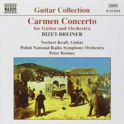 Carmen Concerto for Guitar and Orchestra