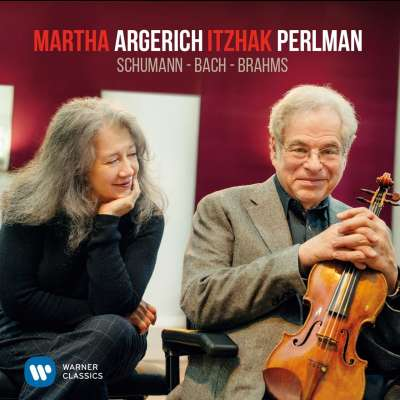 Perlman And Argerich Play Schumann, Bach And Brahms
