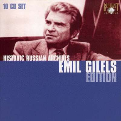 Historic Russian Archives Emil Gilels Edition -10 CD Set