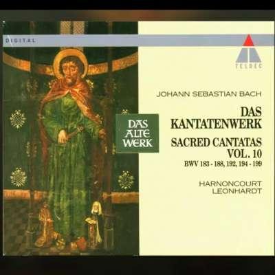 Bach: Sacred Cantatas Vol. 10: Bwv 183-188, 192, 194-199