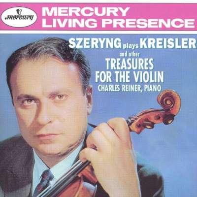 GLUCK: (ARRANGED BY KREISLER) MÉLODIE - HENRYK SZERYNG, CHARLES REINER