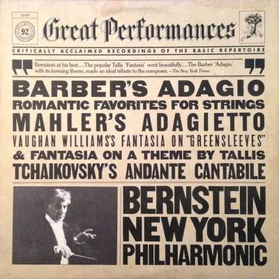 BARBER'S ADAGIO AND OTHER ROMANTIC FAVORITES FOR STRINGS